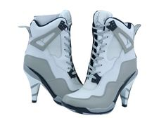 For all guys that wear Jordan's for basketball.  But, heels for women make them, switchable.
