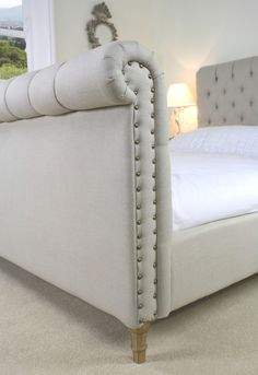 upholster existing The Jacobi Retreat Pinterest French bed