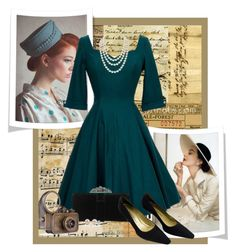 """Vintage/Retro"" by rosipolooyas on Polyvore"
