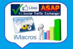 Get 12 #LikesASAP iMacro scripts to gather points on Autopilot! Works perfectly in 2015!
