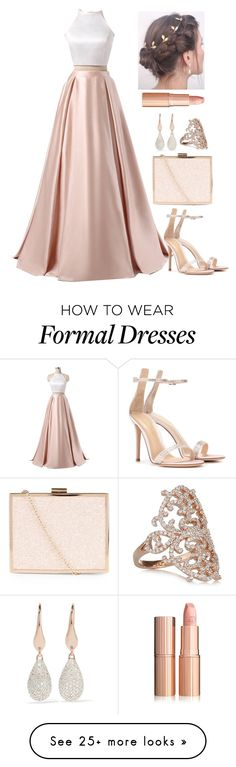 """Untitled #4422"" by natalyasidunova on Polyvore featuring New Look, Monica Vinader, Diane Kordas and Gianvito Rossi"