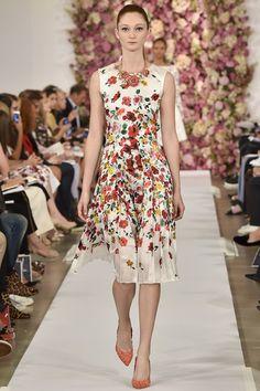 Oscar de la Renta Spring/Summer 2015 ready-to-wear #NYFW