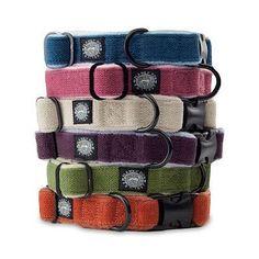 "Cozy Hemp Adjustable Dog Collar - Apple Green, Large: 18""-28"" Neck - Frontgate"