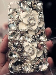 IPhone Case Bling Luxurious Gem Diamond Case For iPhone 4 Case iPhone 4S Case iphone 4/4S case IPhone 5 Case