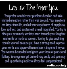 Leo and the inner you