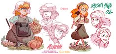 Girls, girls girls ! I'm looking for the good time… Robin Hood, mischief in Sherwood-Visual development-part 3 part 1 / part 2
