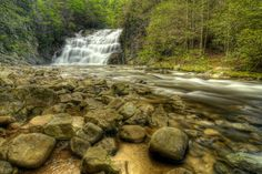 Laurel Fork Falls on the Appalachian Trail in TN