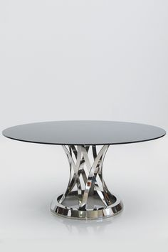 Chiso Dining Table by Mobital on HauteLook - love this base, just wish the glass top wasn't black.