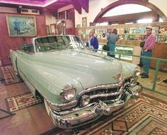 1952 Cadillac in which Hank Williams died.