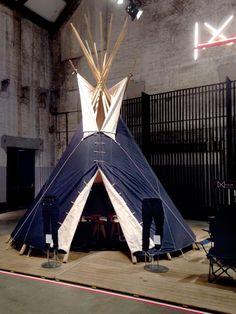 """G-STAR RAW,Amsterdam, The Netherlands, """"The Raw Tipi at Amsterdam's Denim Days"""", pinned by Ton van der Veer"""