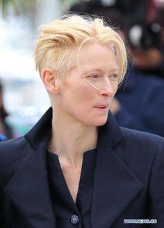 tilda swinton hair - Google Search