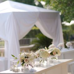 love these flowers for outdoor weddings
