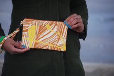 Hand painted Clutch by BrandEShop on Etsy, $25.00
