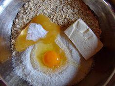 Dragostea in bucate: BISCUITI DIETETICI CU FULGI DE OVAZ SI COCOS Eggs, Breakfast, Food, Morning Coffee, Eten, Egg, Meals, Morning Breakfast, Egg As Food