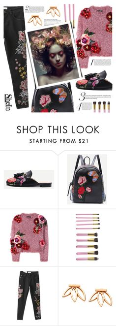 """Shein #5"" by tasnime-ben ❤ liked on Polyvore featuring Dolce&Gabbana, Sheinside and shein"
