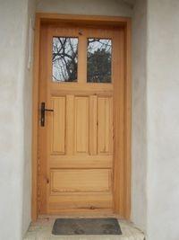 Vchodové dveře se sklem