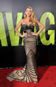 Blake Lively.  #lovely so old Hollywood! Love it!