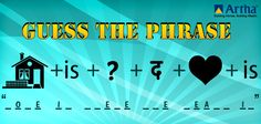 Are you in for some #fun??   Put on your thinking hats & Guess this commonly used phrase.  #contest #games #puzzles