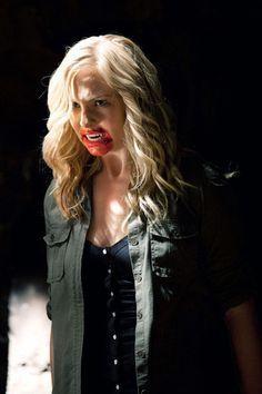 Candice Accola as Caroline Forbes