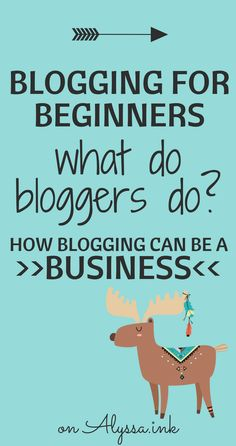 Blogging for Beginners: What do bloggers do? How do they make money? How can you turn a blog into a business? Let's look at an overview of professional blogging. Content, Design, Promotion, Monetization, & Analytics.