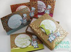 Juana Ambida | Birthday Delivery bundle - Box card set | Creative Circle Birthday Bash Theme Blog Hop. #handmadecards, #stampinup, #juanacreate