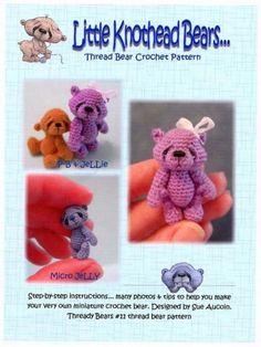 FREE PATTERN ~ WRITTEN IN RUSSIAN ~ Mini Bear Crochet