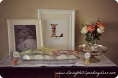 cute as a button baby shower ideas via www.livingwellspendingless.com