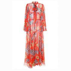 Long Sequin Dress By Attico For Preorder On Moda Operandi