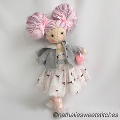 Lovely Amigurumi doll