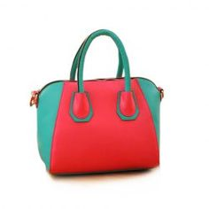 $11.71 Stylish Women's Street Level Handbag With Tote and Color Block Design