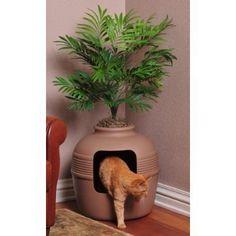 Good Pet Stuff Hidden Cat Litter Box Big Multi Cat | eBay
