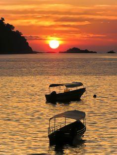 Sunset in Redang Island - Malaysia