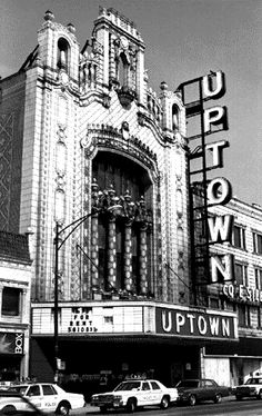 The Uptown Theatre in Chicago, the restoration project that I'd move to Chicago for!