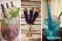 Mira como preparar blueberry crush como cocktail para la despedida de soltera #bodas #ElBlogdeMaríaJosé #Cocktails #DespedidaSoltera #Bebida