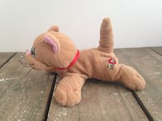 Tonka VTG Pound Purries Purry Orange Tabby Cat by ThePinkRoom