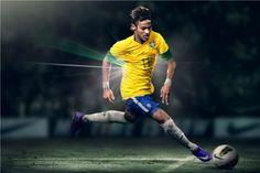 Custom Neymar Poster Neymar JR Posters Barcelona Wall Stickers Barca Soccer Ball Wallpapers Brazil Football Star Sticker #1970#