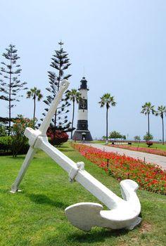 El Faro de la Marina ~ Miraflores, Lima, Perú. LA BELLA LIMA, CAPITAL DEL PERÚ.