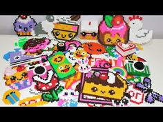 "♥ Le Mie Creazioni In Pyssla (Hama Beads)""My perler/Hama Bead creations""#1 ♥ - YouTube"