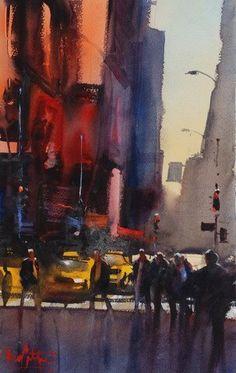 Álvaro Castagnet #watercolor jd
