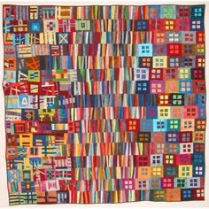 Modern Square Quilt | Erin Wilson (?) | Fibre Arts Collective