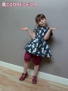 Lizzy dress version tunique un peu kitsch by Rconnection : j'adore !