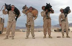 A soldier and his dog!!!