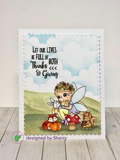 Craftin Desert Divas Fall Fairies Autumn Fairy, Giving, Fairies, Divas, Thankful, Fall, Cover, Cards, Life