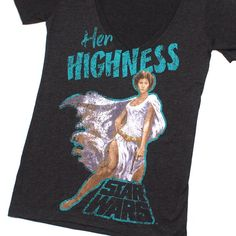 Women's Star Wars Princess Leia v-neck t-shirt