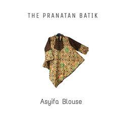 Asyifa blouse Asymetrical Batik blouse cotton Only Idr 95K