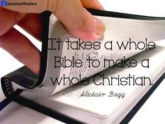 BecKyle: Tuesday's Top Ten [What I Believe about the Bible]