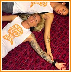 Photo of the day: Ashlyn Harris and Ali Krieger | finishers