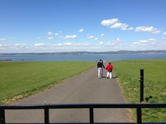 Cramond early on in summer 2013