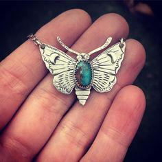 Awesome butterfly necklace