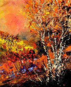 Autumn 682110 - Pol Ledent's paintings